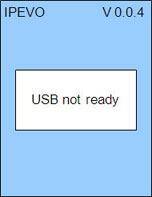 USB not ready